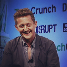 Alex Winter At TechCrunch Disrupt