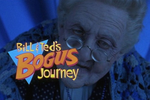 Alex Winter Bill and Ted's Bogus Journey Scenes