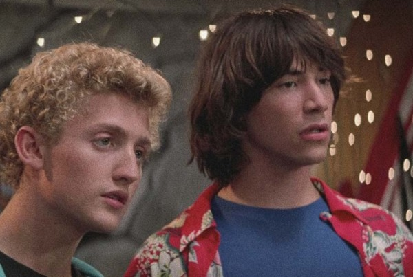 Bill & Ted's Excellent Adventurers Alex Winter and Keanu Reeves