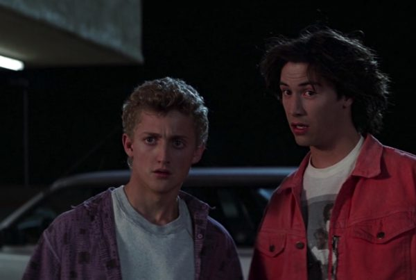 Bill & Ted's Excellent Adventure clip Meeting Rufus