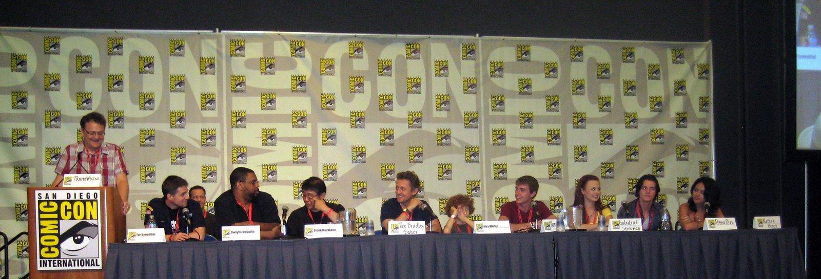 Ben 10 ComicCon panel director Alex Winter and cast