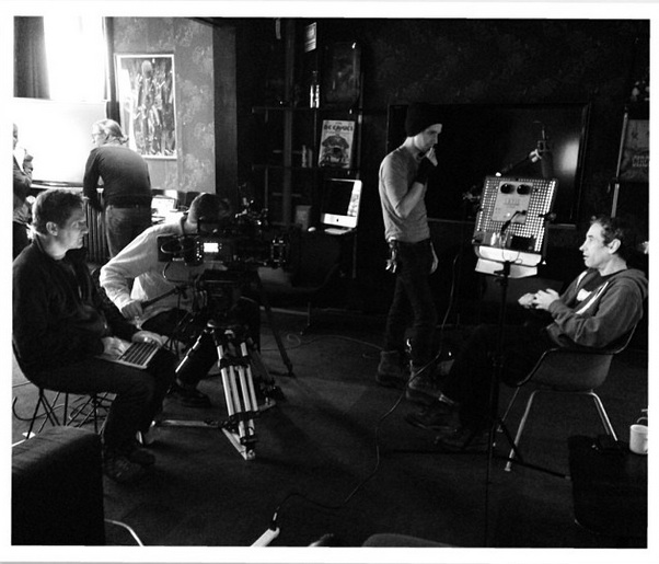 Deep Web shoot with Douglas Rushkoff