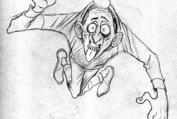 Eddie The Flying Gimp by the Coop 1
