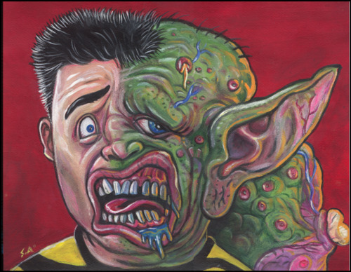 Freaked fan art illustration by Gargledmesh