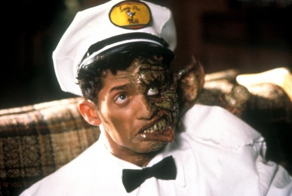 Alex Winter disguised as a milkman in the film Freaked