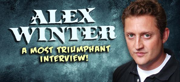 2011 Icon vs Icon interview with Alex Winter: a most triumphant interview