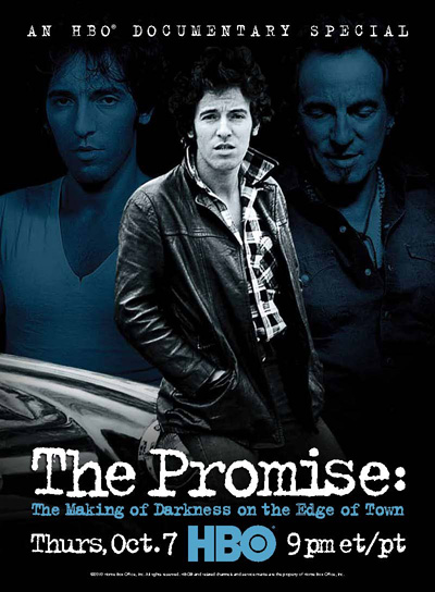 The Promise movie poster HBO doc about Bruce Springsteen