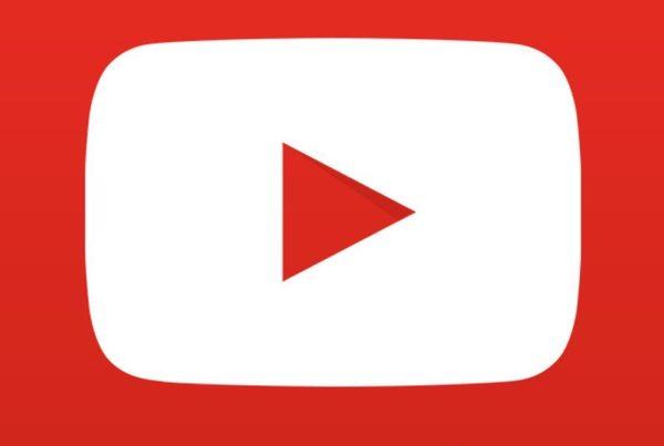 Giant YouTube play button.
